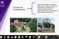 Profesor Francisco Arango explica el proceso de sensibilización ante acreditación
