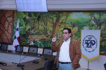 El Ing. José Ortiz, hizo la presentación.