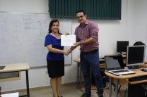 Porfesora María Tejedor y Magíster Danny Murillo.
