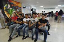 Los estudiantes del Centro Regional de Coclé participan de las actividades.