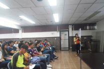 Estudiantes primer ingreso de conocen la UGTC.