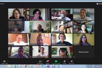 Dr. Adrián Pinto Tomás, Vicerrector de Investigación, de la Universidad de Costa Rica, en su mensaje de bienvenida a los miembros del SEDUCA.