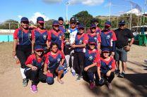 Equipo del Centro Regional de Veraguas en el campo de juego.