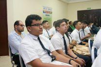 Participaron más de 110 personas de diferentes instituciones, colegios secundarios.