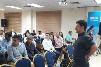 En el seminario participa profesionales de instituciones públicas.