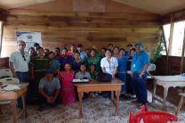 Capacitación al personal de la organización ÖREBÄ en Bocas del Toro.
