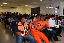 Instituciones de seguridad participantes del evento.