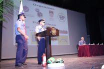 Personal del Benemérito Cuerpo de Bomberos.