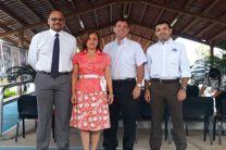 Equipo de Asesores de la JIC en Coclé Dr. Miguel Vargas Lombardo, Ing. María Yahaira Tejedor M., Ing. Francisco Arango, Dr. Rodney Delgado.