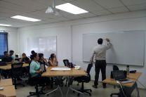 Taller de Liderazgo, estudiantes del Centro Regional de Coclé.