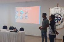 Estudiantes del Centro Regional de Azuero (Licenciatura en Sistemas Eléctricos y Automatización).