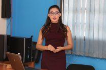Estudiante Sugeidy Campos Arjona, sustentó su trabajo de graduación para optar por el título de Licenciatura en Logística y Transporte Multimodal.