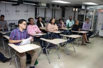 Participación de docentes, investigadores y estudiantes del programa de maestría y de pregrado.