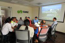 El taller se realizó en la Planta de Tratamiento de Aguas Residuales de Juan Díaz.