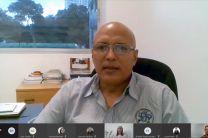 Dr. Orlando Aguilar, Director de Investigación de la UTP, da la bienvenida al evento.