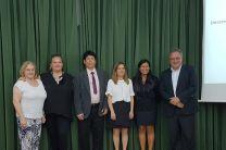 Dra. María Purificación Galindo Villardón,  María Purificación Vicente Galindo, Dr. Reinhardt Pinzón, Dra. Carmen Patino, Dra. Nathalia Tejedor y Dr. David Almorza.