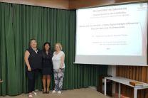 Dras María Purificación Vicente Galindo, Nathalia Tejedor y María Purificación Galindo Villardón.