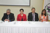 El Congreso fue inaugurado por la Licda. Alma Uriiola de Muñoz, Vicerrectora Académcia.