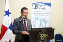 El Vicerrector de Investigación Postgrado y Extensión de la UTP, ofreció las palabras de bienvenida.