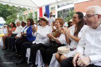 Autoridades de la UTP e invitados estuvieron en el Palco de Honor.