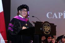 La Ceremonia de Graduación de la FIC 2019, fue presidida por el Rector Montemayor Ábrego.