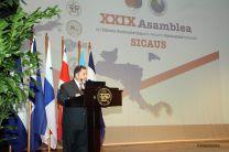 Dr. Carlos Guillermo Alvarado, Secretario General del CSUCA, participa en el SICAUS.