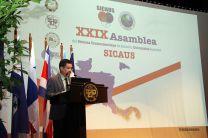La XXIX Asamblea del SICAUS fue inaugurada por el Dr. Alexis Tejedor De León.