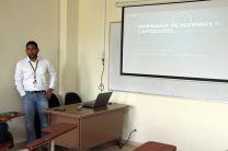 El tema Hidráulica de Acuíferos y Captaciones, fue expuesto por por el Ing. Miguel Salceda González.