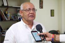 El Director del Centro Regional de Azuero, Ing. Urbano Alaín.