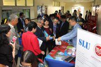 Los distintos stands fueron visitados por autoridades de China y de la UTP.