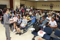 Representantes de las universidades china explicaron todo lo concerniente a las becas ofertadas.