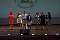 La presentación formal del equipo de vida Universitaria a los estudiantes lo realizó la Ing. Vivian Valenzuela.