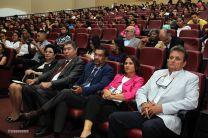 Participantes en el acto de reconocimiento a la Ing. Espino de Marotta.