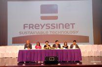 Integrantes de la Mesa Principal durante la inauguración de Congreso de la FIC.