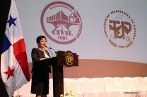 La Vicerrectora Académica, Licda. Alma Urriola de Muñoz, Inauguró Congreso de la FIC.