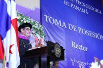 El Ing. Héctor M. Montemayor A. dio su primer discurso como Rector de la UTP 2018-2023.
