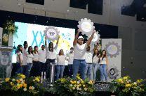 Estudiantes de la FII participan en el Opening.