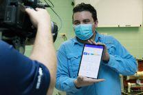 Ing. Antony García presenta app que registra parámetros del ventilador.