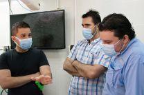 Parte del equipo de investigadores del proyecto.