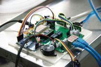 Parte electrónica del ventilador.