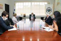 Autoridades de la UTP se reúnen con equipo de la embajada de Países bajos