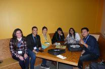 Participación de los estudiantes en Congreso-Interacción.