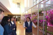 Con el Ing. Pacheco en reunión de trabajo Manufacturing and Productivity Lab MIT