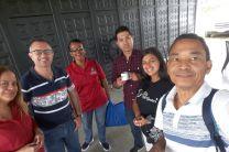 Delegación de la Universidad Tecnológica de Panamá.