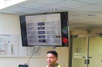 Personal técnico de la Planta de Juan Díaz, hizo una presentación del funcionamiento de la planta de Juan Díaz y además giró una serie de normas de seguridad previa al recorrido.