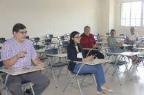 La Dra. Straujuma se reunió con Decanos y docentes de las distintas Facultades.