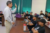 Visita del Dr. Alexis Tejedor De León, Vicerrector de Investigación, Postgrado y Extensión.