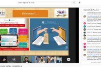 Vista del evento por el canal de YouTube del Centro Regional de Coclé