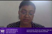 En la imgane, la Ingeniera Yaneth Gutiérrez dando palabras de bienvenida