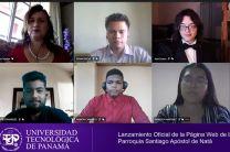 En la imagen la Ing. María Tejedor y estudiantes que desarrollaron el proyecto.